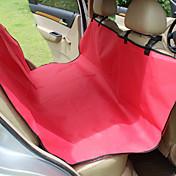 Pes Chránič na sedadlo do auta Domácí mazlíčci podložky Jednolitý Voděodolný Přenosný Skládací Černá Šedá Kávová Červená Modrá