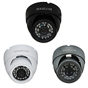 960p hosafe ™ seguridad 1.3mp metálica impermeable cámara domo IP con 24 IR LED
