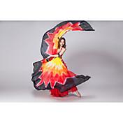 パフォーマンス イシスウィング 女性用 演出 シルク 1個 翼