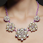 Collar Aniversario/Fiesta/Ocasión especial Perla Artificial/Rhinestone Aleación De mujeres