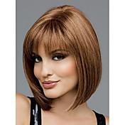 美しい古典的な人工毛かつら、赤褐色ファッション髪、女性のかつら、短い髪,,高品質