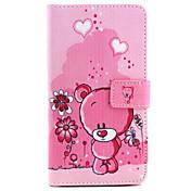 のために Samsung Galaxy Note ウォレット / カードホルダー / スタンド付き / フリップ ケース フルボディー ケース カトゥーン PUレザー Samsung Note 4