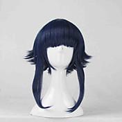 コスプレウィッグ NARUTO -ナルト- Hinata Hyuga ブルー ショート アニメ系 コスプレウィッグ 35 CM 耐熱繊維 女性用