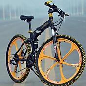 Horské kolo / Skládací kola Cyklistika 27 Speed 26 palců/700CC 60mm Pánské MICROSHIFT TS70-9 Kotoučová brzda Springer vidliceZadní