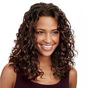 新しいファッションカーリーヘアスタイルはレミブラジルの髪の女性のパーティーかつら赤ちゃんの髪の完全なレース人間の髪の毛のかつらを12インチ