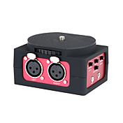 saramonic 2 canales adaptador mezclador de audio del micrófono sr-AX101 con 3.5mm inteface para cámaras réflex digitales&videocámaras