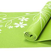 PVC Yoga Mats Pegajoso Non Toxic 8.0 mm Rojo Azul Verde Morado