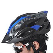 スポーツ 男女兼用 バイク ヘルメット 21 通気孔 サイクリング サイクリング マウンテンサイクリング 登山 ワンサイズ PC EPS ポリ塩化ビニル イエロー ホワイト レッド ブラック
