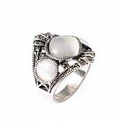 指輪 ファッション パーティー ジュエリー 銀メッキ 女性 ステートメントリング 1個,ワンサイズ ゴールデン