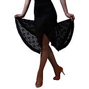 ラテンダンス ボトムズ ドレス スカート 女性用 訓練 演出 プロミックス レース 1個 ナチュラルウエスト スカート