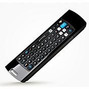 メレf10キープロイヤホンでエアマウス、キーボード、リモコンを飛びます& アンドロイドテレビボックスのmicphone 2.4GHzの