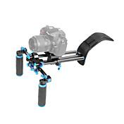 Yelangu® soporte de montaje de hombro dslr con cámara / videocámara montaje deslizante, conjunto de elevación de hombro.