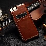 カードスロット付きの豪華なPUレザーフルボディケースと(アソートカラー)iPhone 5 / 5S用TPUカバースタンド
