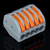 50pcs pct-215 400v / 4 kV / 32a conector universal 0.08-2.5mm² individual / 0.08-4.0mm² múltiples 9-10mm alambre de longitud de pelado