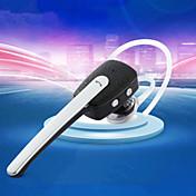 oído estéreo bluetooth gancho GL90 bluetooth headset csr v4.0 + EDR 2-en-1 con el micrófono para el iphone / samsung / portátil / tablet
