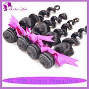 Tejidos Humanos Cabello Cabello Peruano Ondulado Amplio 6 Meses 3 Piezas los tejidos de pelo
