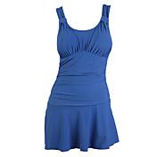 女性用 高通気性 ビデオ圧縮 滑らか 環境に優しい ポリエステル 潜水服 ノースリーブ スイムウェア-水泳 サーフィン 夏 レッド グリーン ブルー