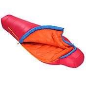 寝袋 マミー型 シングル 幅150 x 長さ200cm -15-10 ダックダウンX80cm 狩猟 ハイキング ビーチ キャンピング 旅行 屋外 屋内 保温 防風 ビデオ圧縮 超軽量(UL) HIGHROCK