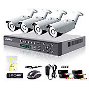 700tvl屋外の昼/夜セキュリティカメラシステム4Xliview®8chのHDMI 960HネットワークDVR