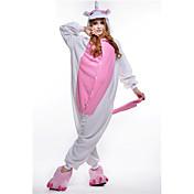 Kigurumi Pidžama Unicorn Hula-hopke/Onesie Festival/Praznik Zivotinja Odjeća Za Apavanje Halloween Narančasta Kolaž Flis Kigurumi Za