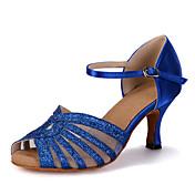 Zapatos de baile(Azul / Rojo / Oro) -Danza del Vientre / Latino / Jazz / Zapatillas de Baile / Moderno / Samba / Zapatos de Swing-