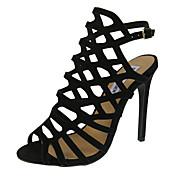 Ženske cipele-Sandale-Formalne prilike / Ležerne prilike / Zabava i večer-Umjetna koža-Stiletto potpetica-Štikle / Otvorene salonke /