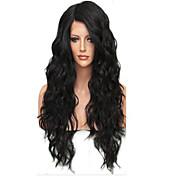 赤ん坊の毛ブラジル処女グルーレス緩いウェーブレースのかつらを使用して新しい!!! 100%本物の未処理の人間の髪の毛のフルレースかつら
