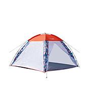 Makino 3 a 4 Personas Tienda Triple Carpa para camping Una Habitación Bien Ventilado Resistente al Viento A prueba de insectos
