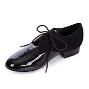 Zapatos de baile (Negro) - Zapatos de Práctica/Salón de Baile/Moderno - No Personalizable - Tacón grueso