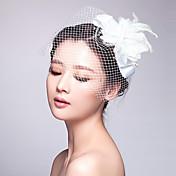 Mulheres Tule Tecido Capacete-Casamento Ocasião Especial Fascinador 1 Peça