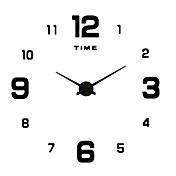 Moderno/Contemporâneo / Casual Família Relógio de parede,Redonda / Inovador Acrilico / Metal / Aço Inoxidável 50Interior/Exterior /