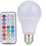 ywxlight® E27 stmívatelné svítidlo RGBW LED žárovky 10 w barevné rgb žárovky 85-265v lustry LED světla