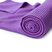 Yoga Toallas Antideslizante Non Toxic Libre de Olores Eco Friendly Secado rápido Grueso Peso ligero Microfibra Azul Naranja Verde Morado