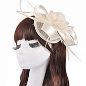 成人用 フラワーガール フラックス かぶと-結婚式 パーティー ヘッドドレス 1個