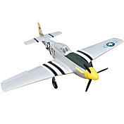 P51D Mustang 4 Canales 2.4G 1: 8 Avión de radiocontrol  50KM / H Necesita Un Poco de Ensamblaje