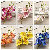 1 1 Větev Umělá hmota Others Květina na stůl Umělé květiny 7inch/18cm