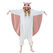 Kigurumi Pijamas Leotardo/Pijama Mono Festival/Celebración Ropa de Noche de los Animales Halloween Rosado Estampado Animal Lana Polar