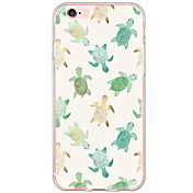 Para iPhone X iPhone 8 iPhone 6 iPhone 6 Plus Carcasa Funda Antigolpes Antipolvo Diseños Cubierta Trasera Funda Animal Dura Policarbonato