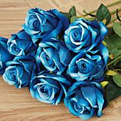 1 1 Podružnica Plastika Roses Cvjeće za stol Umjetna Cvijeće 20inch/51cm