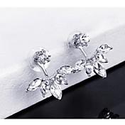 Leaf Shape / Others,Šperky 1 pár Módní Zlatá / Stříbrná Slitina Svatební / Párty
