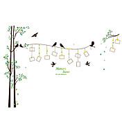 Botanický motiv Samolepky na zeď Samolepky na stěnu Ozdobné samolepky na zeď / Fotografické samolepky,pvc MateriálSnímatelné /
