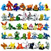 小さなモンスターのアクションフィギュア144pcsかわいいモンスターミニフィギュアのおもちゃ最高のクリスマスを着服&誕生日プレゼント約3cm