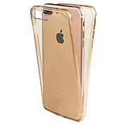 のために Other ケース フルボディー ケース ソリッドカラー ソフト TPU Apple iPhone 7プラス / iPhone 7 / iPhone 6s Plus/6 Plus / iPhone 6s/6