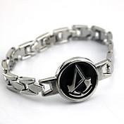 Šperky Inspirovaný Assassin's Creed Connor Anime Cosplay Doplňky Náramky Stříbro Stop Pánský / Dámský
