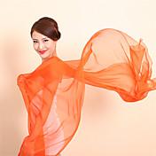 Bufanda Mujer Vintage / Casual-Raso Un Color Rectángulo
