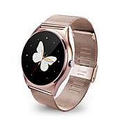 Reloj SmartLong Standby Podómetros Atención de Salud Deportes Cámara Monitor de Pulso Cardiaco Despertador Pantalla táctil Control de