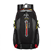 ユニセックス バックパック ポリエステル オールシーズン カジュアル アウトドア ファスナー オレンジ フクシャ レッド グリーン ブルー