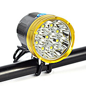 Linternas de Cabeza luces de seguridad Correa para Luz de Casco LED 18000 Lumens 1 Modo Cree XM-L T6 Adecuadas para Vehículos Control de