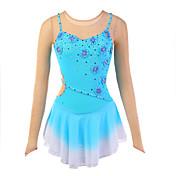 Vestido de Patinaje Sobre Hielo Mujer Patinaje Vestidos Alta elasticidad Figura vestido de patinaje Listo para vestir Transpirable Hecho