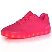 Žene Sneakers Proljeće Ljeto Jesen Zima Osvijetlite Shoes Udobne cipele Til Aktivnosti u prirodi Ležeran Atletika Niska potpetica Vezanje